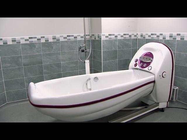 COCOON R'GO : La baignoire à hauteur variable électrique design et ergonomique