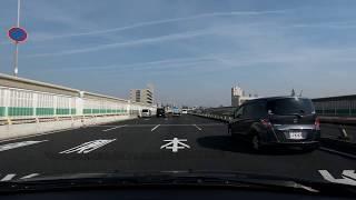 国道43号バイパスを制限速度で走ると… 弁天町~神崎川間 [車載動画]