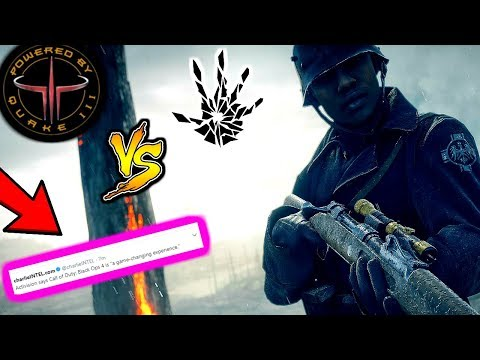 WHY CALL OF DUTY SHOULD CHANGE THERE GAME ENGINE AND NOT KEEP UPGRADING IT! (COD BO4 NEW ENGINE)