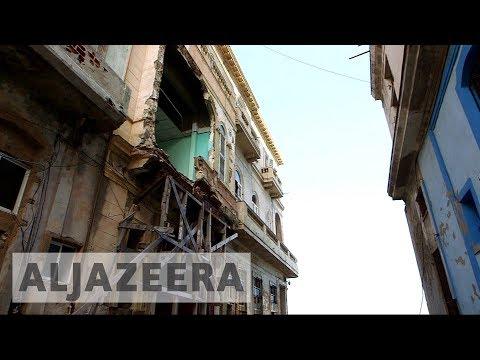 Rising water levels threaten Cuba's capital Havana