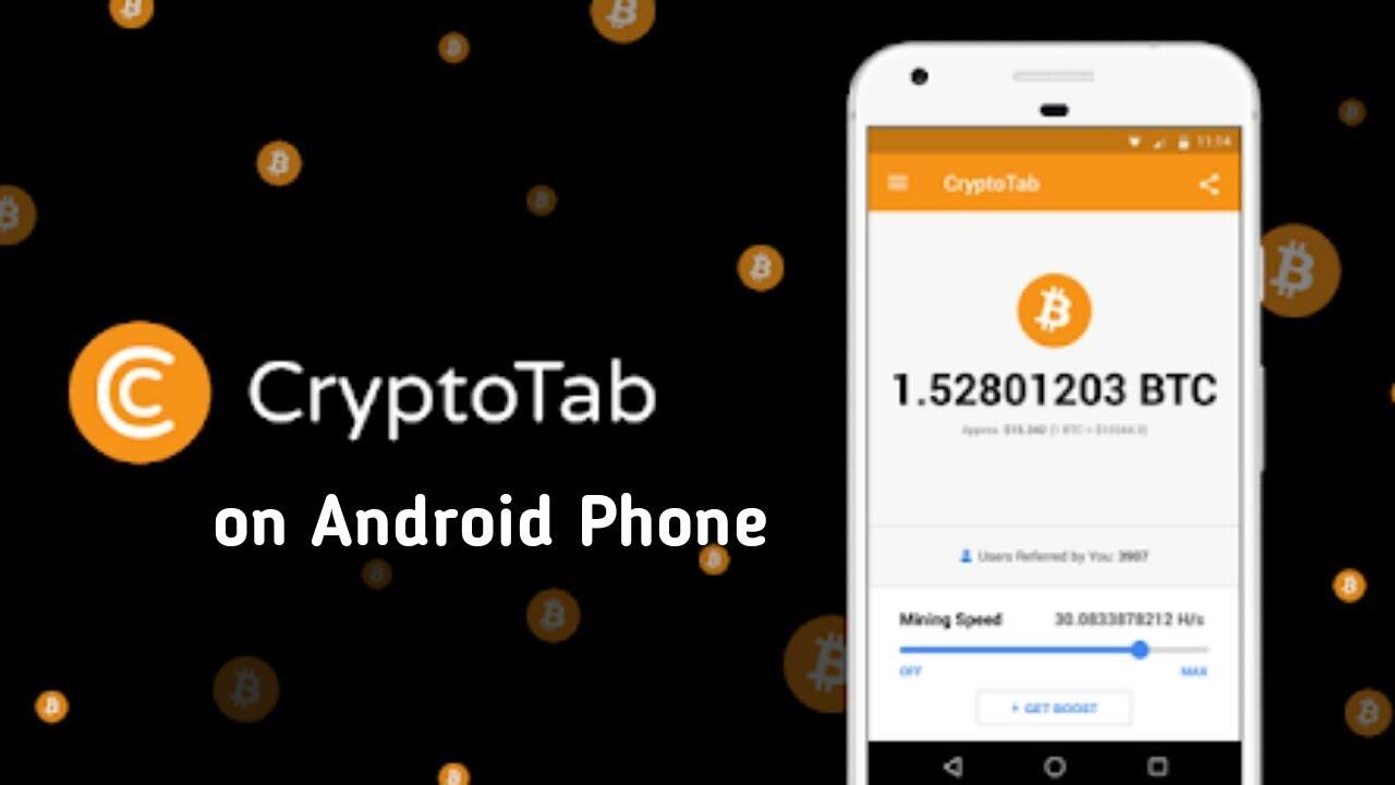 CryptoTab on Android Phone Earn Free Bitcoins