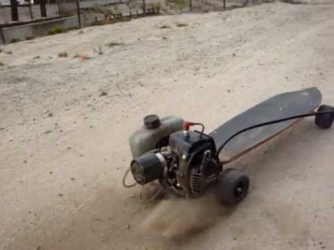 4x4 offroad gas powered skateboard youtube. Black Bedroom Furniture Sets. Home Design Ideas