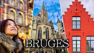 How to Spend 2 Days in Bruges, Belgium | Best Chocolate, Beer Tastings, Vlog Guide