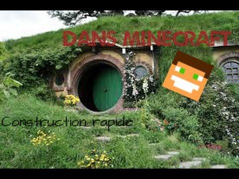 maison de bilbon le hobbit dans minecraft youtube. Black Bedroom Furniture Sets. Home Design Ideas