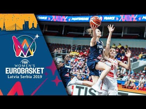 Montenegro v France - Highlights - FIBA Women's EuroBasket 2019