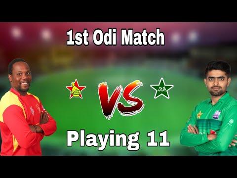 Pakistan Team Odi Playing 11 Vs Zimbabwe 1st Odi Match 2020 || Pakistan Playing Xi Vs Zimbabwe 2020