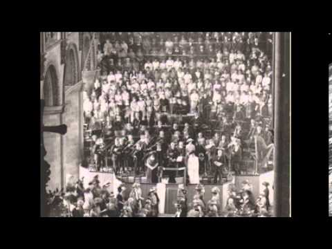 Bach B-minor Mass Gloria - the first ever recording (1929)