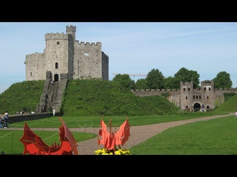 Scenes From Cardiff, Cardiff Castle, & Castell Coch - Cardiff, Wales