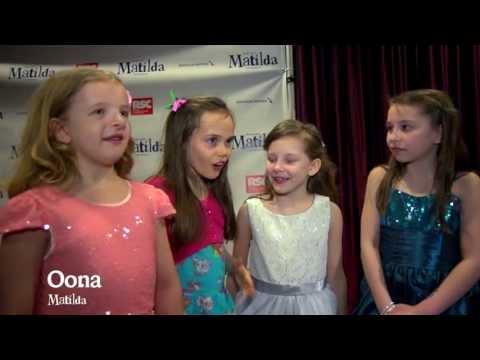Matilda The Musical Opening Night