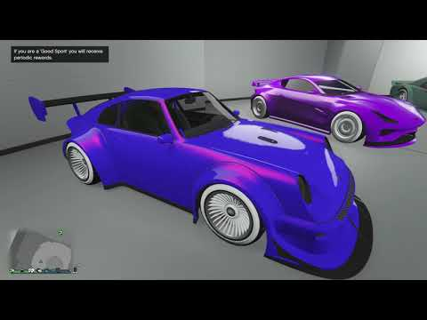 Some of my Modded cars in GTA 5 ONLINE