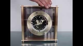 SEIKO SEIKOSHA Mantel Clock Japan CITY NAME QQZ885A World Time Shelf Design