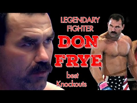 """Best Knockouts by Don Frye (""""The Predator"""")   Time to Fight"""