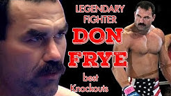 "Best Knockouts by Don Frye (""The Predator"") 
