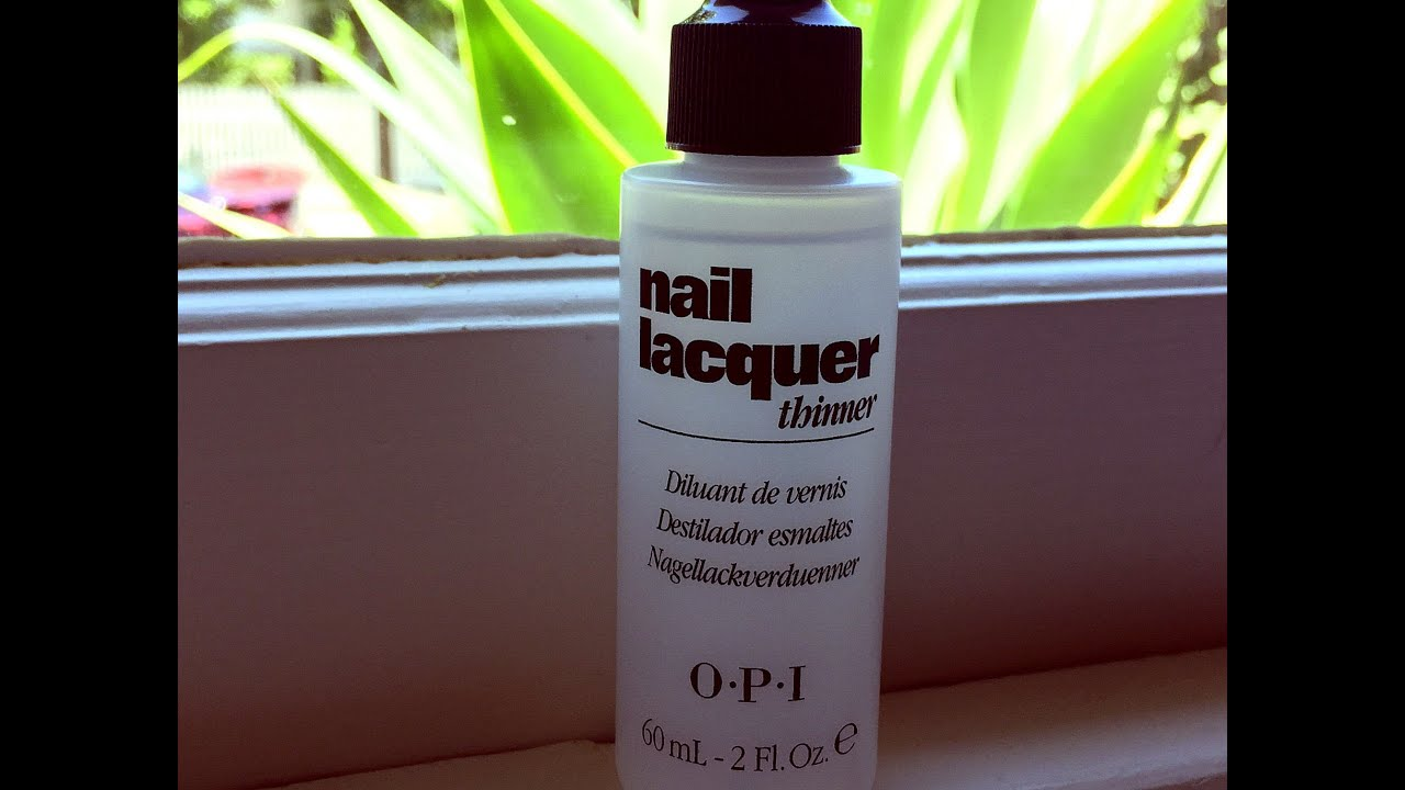 OPI Lacquer Thinner - product review - YouTube