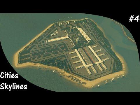 Cities Skylines S2E04 International Airport