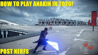 Star Wars Battlefront 2 - How to Anakin in 2020!  Anakin Skywalker pro plays! Good Ani strategy!