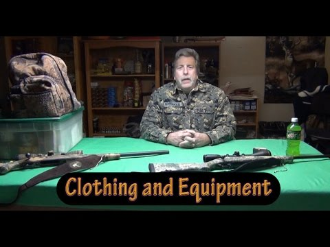 Introduction To Whitetail Deer Hunting Series - Clothing And Equipment