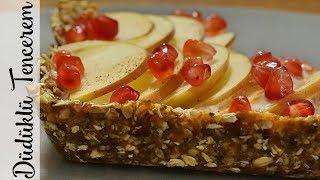 Şekersiz  Unsuz Pasta Tarifi - Raw Pasta Nasıl Yapılır?