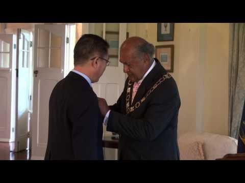 Outgoing Chinese Ambassador Honoured by Fijian President H.E Ratu Epeli Nailatikau