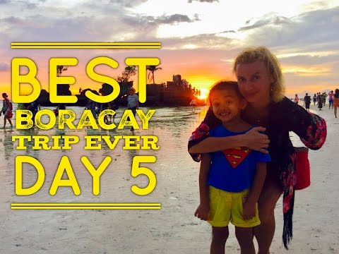 Best Boracay Trip Ever Vlog Day 5 of 8: Discovery Shores, Willy's Rock, Sandbar Firedance Show