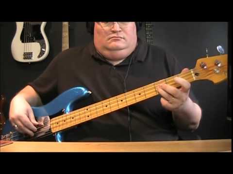 Elton John I'm Still Standing Bass Cover with Notes & Tablature