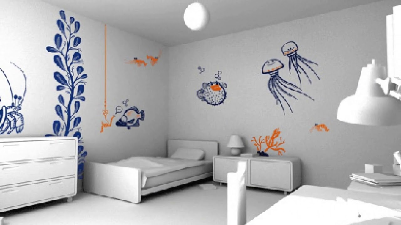 Wall Paint Design For Bedroom Indian Ideas
