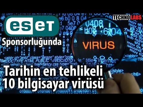 tarihin en tehlikeli 10 bilgisayar virüsü