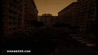 Eerie scene as mysterious BLACKOUTS turn buildings and cities completely dark!