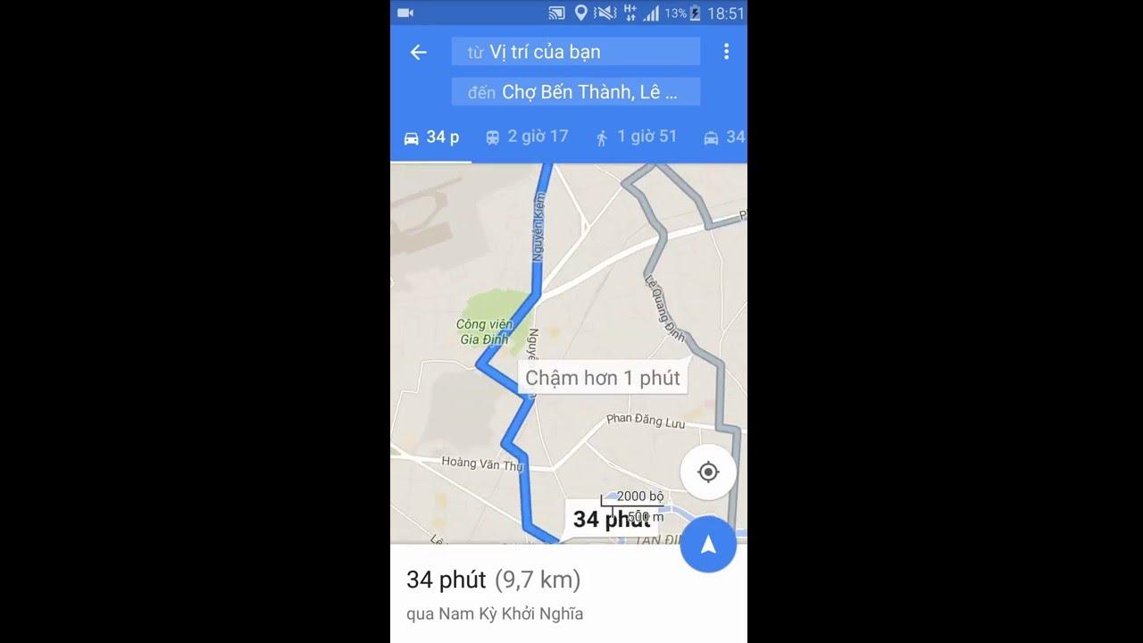 Download Hướng dẫn tìm đường đi bằng smart phone