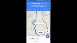Hướng dẫn tìm đường đi bằng smart phone