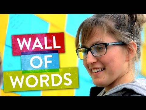A Wall of Words! | SoulPancake Street Team