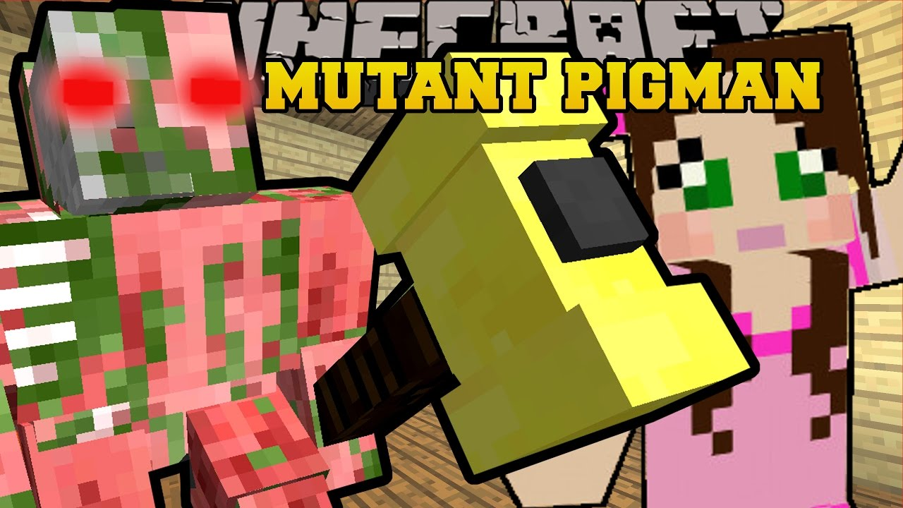 Minecraft Zombie Pigman Costume Minecraft MUTANT ZOMBIE PIGMAN - Minecraft zombie spielen