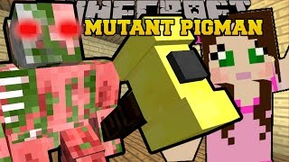 Minecraft: MUTANT ZOMBIE PIGMAN (2 NEW MUTANTS!!) Custom Command