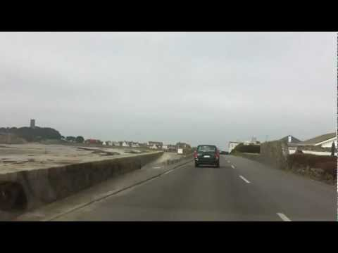 Guernsey by car.