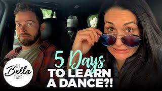 Nikki pushes past STRESS in dance rehearsals!