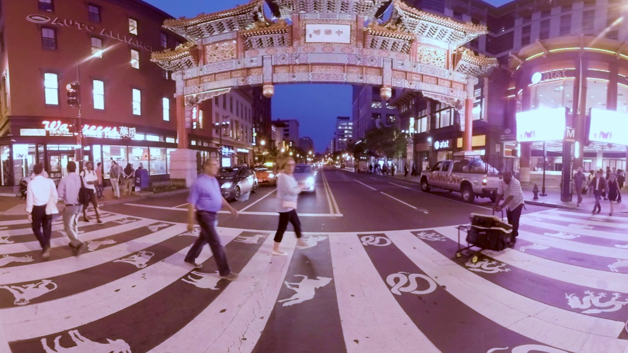 The Friendship Archway in Chinatown | Washington, DC 360 Video