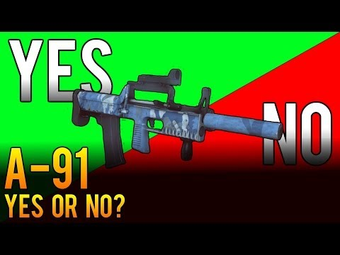 Yes or No: A-91 Weapon Review - Battlefield 4 (BF4)