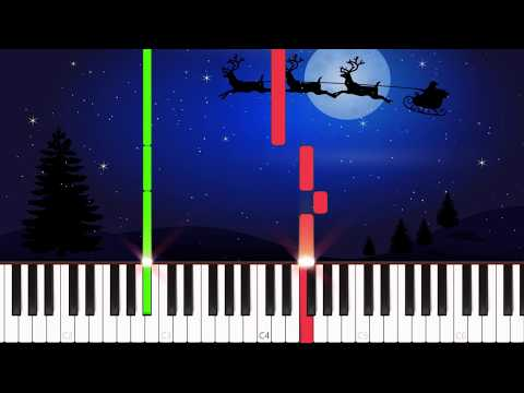 Silent Night [Easy Piano Tutorial] (Synthesia)