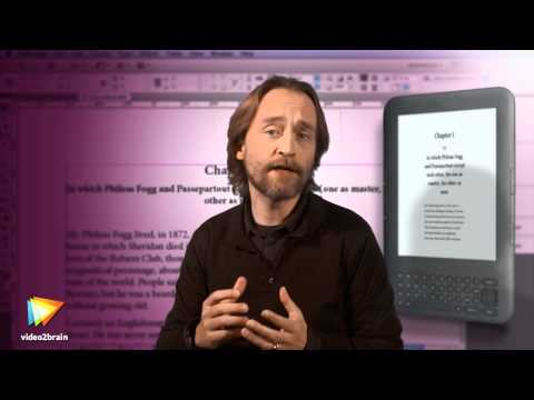 Getting Started Making eBooks with InDesign