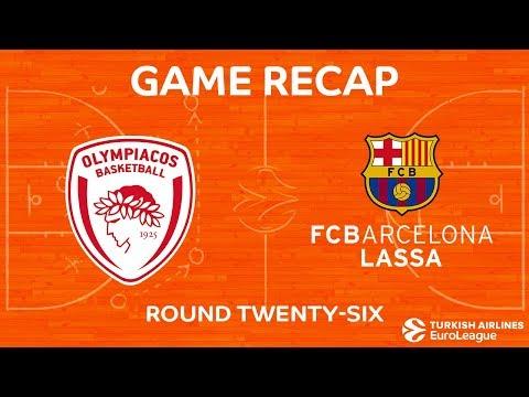 Highlights: Olympiacos Piraeus - FC Barcelona Lassa