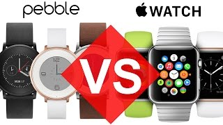 APPLE WATCH VS PEBBLE
