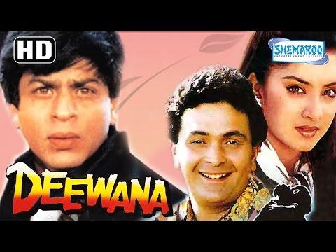 Deewana(HD) -  Shahrukh Khan - Rishi Kapoor - Divya Bharti - Amrish Puri - 90s  Popular Movie