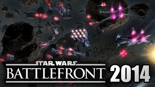 Star Wars Battlefront 3 (SWBF 2014-2015) Space Battles Talk! Space to Ground! Coming To PS4/XboxOne