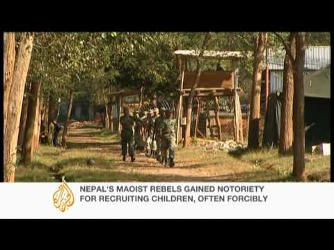 Nepal child soldiers to leave UN camps - 07 Jan 10
