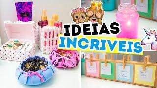DIY - IDEIAS INCRÍVEIS E ÚTEIS QUE VOCÊ PRECISA TESTAR | Jana Taffarel