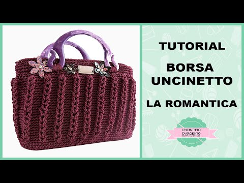 "Tutorial Crochet Bag ""Romantica"" 