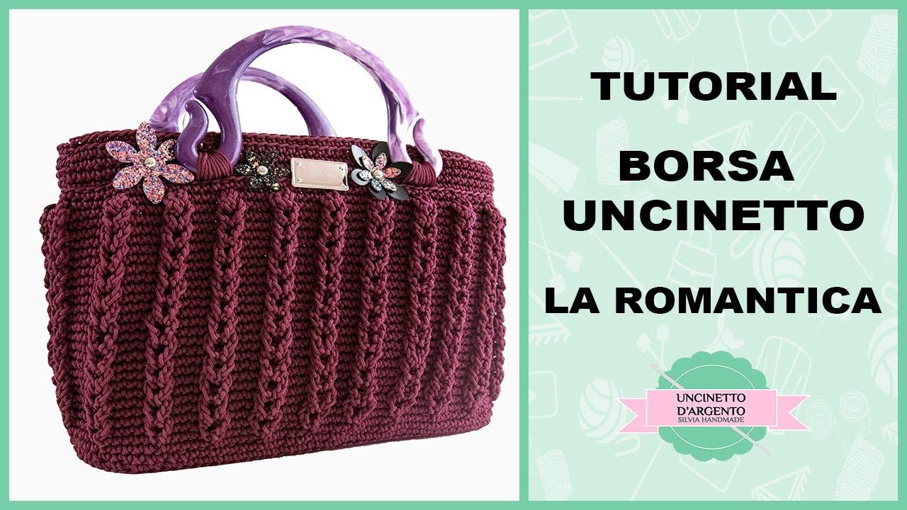 Tutorial Crochet Bag Romantica With Sub Borsa Con Rete