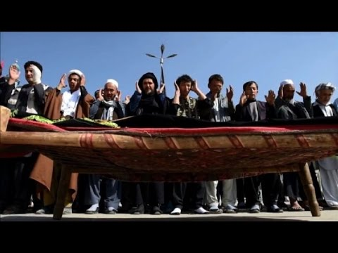 Mourning Afghans mark Ashura hours after shrine attack