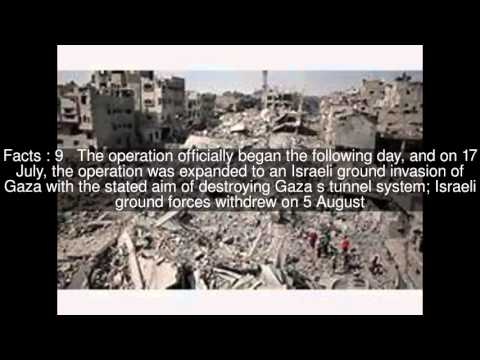 2014 Israel–Gaza conflict Top  #20 Facts