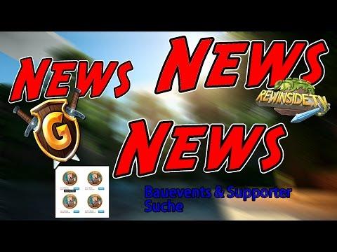 NEWS Rewi Supporter Bewerbungsphase!!! NEWS [MINECRAFT NEWS] Von GommeHD Und Rewinside